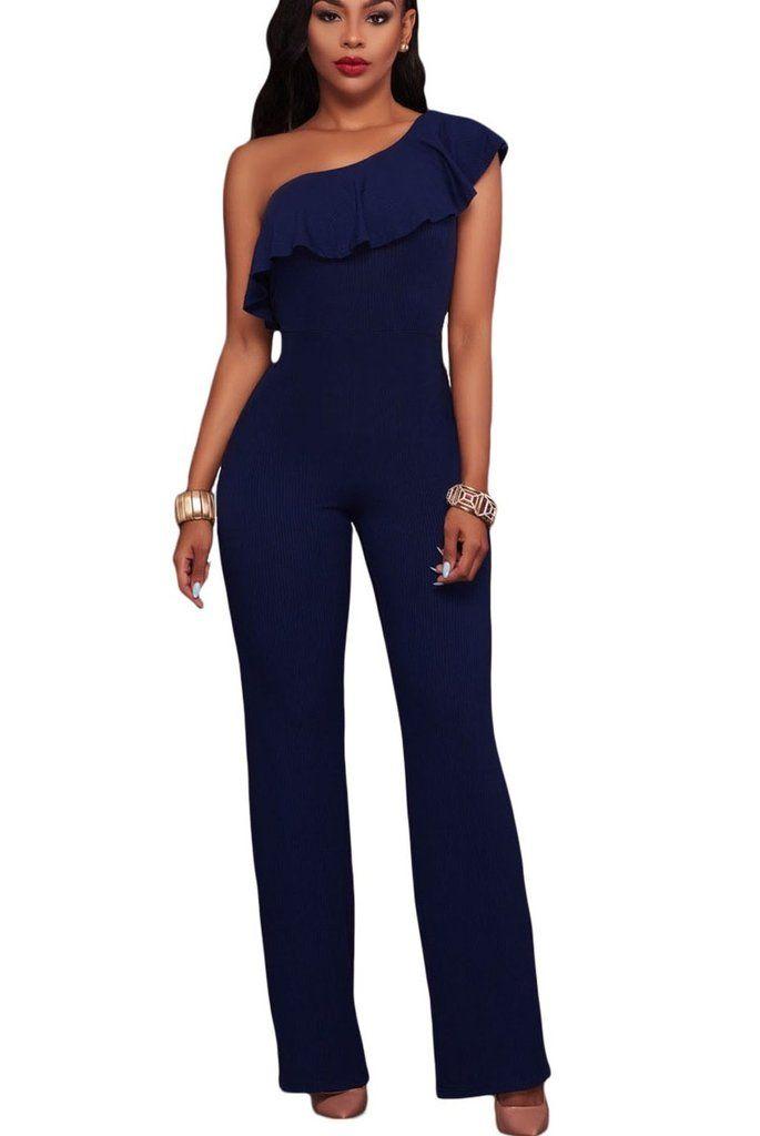 Amazing Blue Jumpsuit | Dressed Up Girl