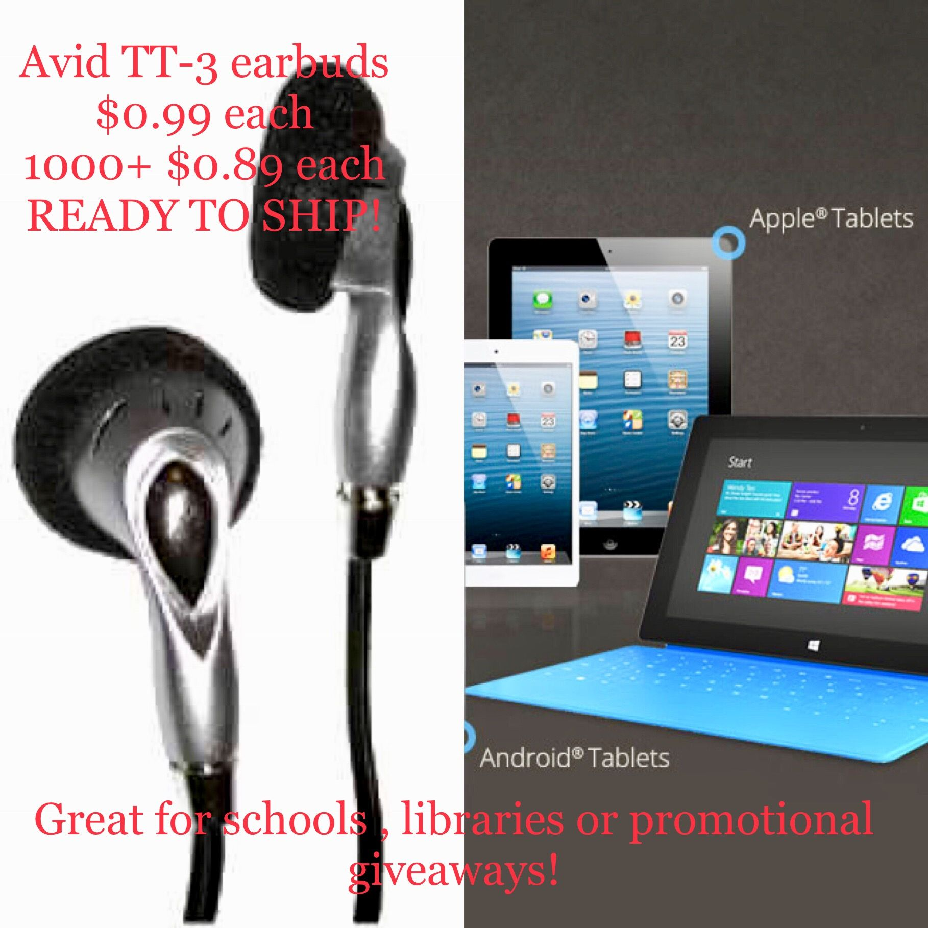 Looking for HUGE savings with bulk pricing on disposable #earbuds