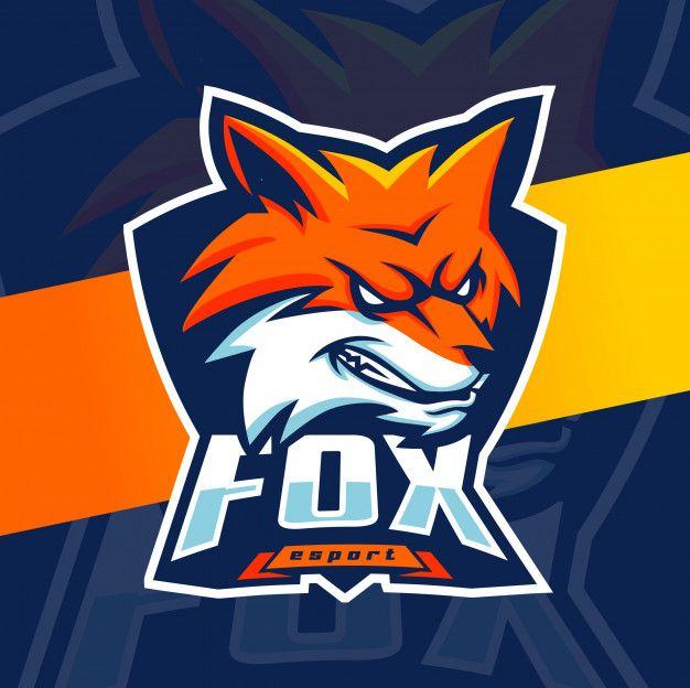 Fox Mascot Esport Logo Design Di 2020 (Dengan Gambar