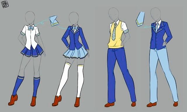 Pin By Animelover347 On Outfits Drawings 1 Manga Clothes Art