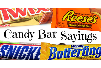 A King-Sized List of Candy Bar Sayings | icebreakers ...