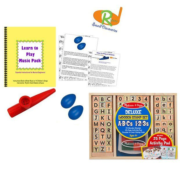 Homeschool Learning Pack Includes Melissa Doug Deluxe