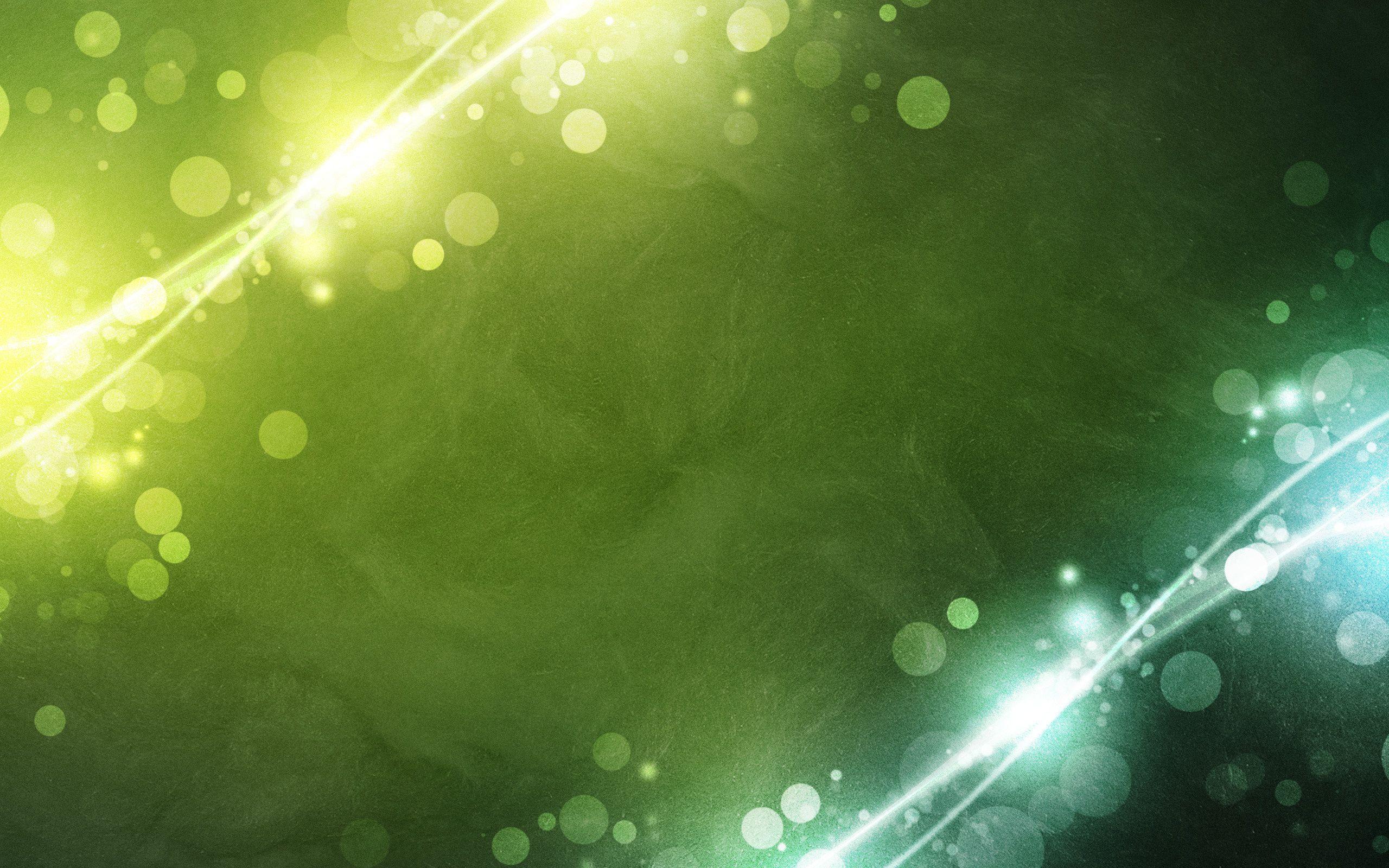 Bild,  Licht, Kreise, grün