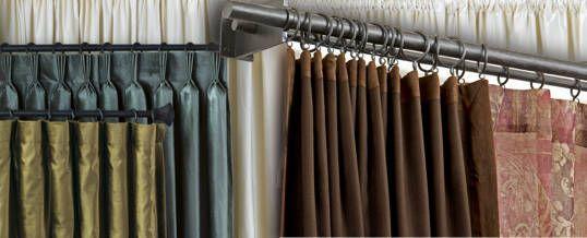 Cortinas de doble barral la mejor opci n cortinas pinterest - Tipos de cintas para cortinas ...