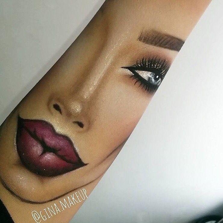 Want More Follow Itsbrillz On Pinterest Hand Makeup Eye