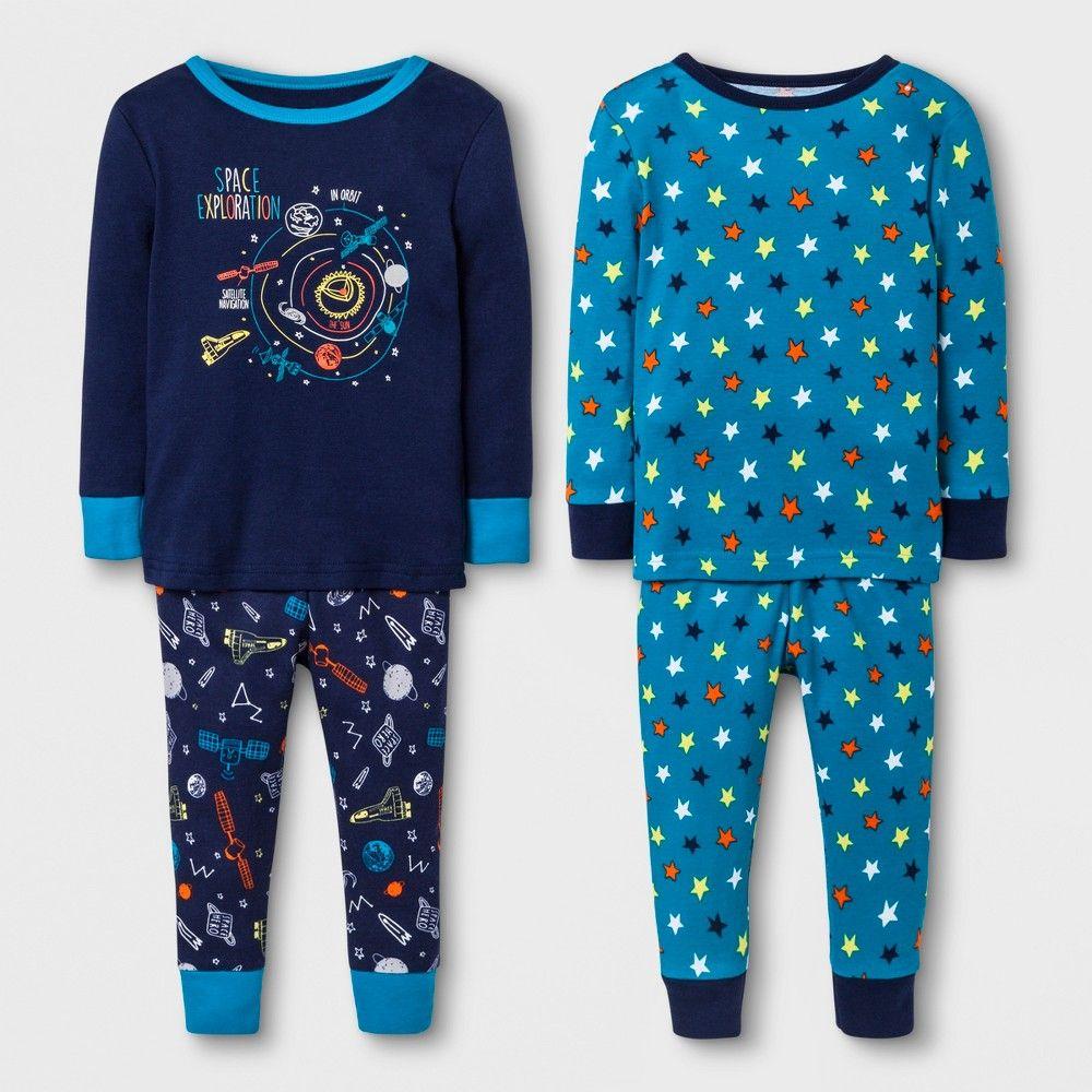 Unisex Baby Kids Long Sleepwear Set Toddler Christmas Cartoon Pajama Set Outfit