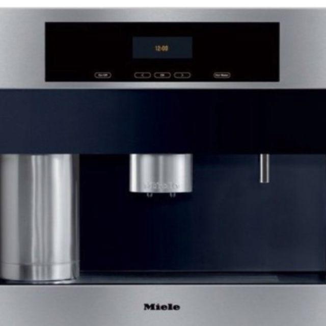 Miele Coffee Maker User Guide : Miele in wall coffee maker Kitchen Pinterest