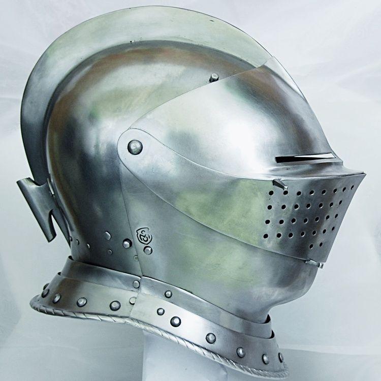 16th century maximillian helmet plate armour helmets