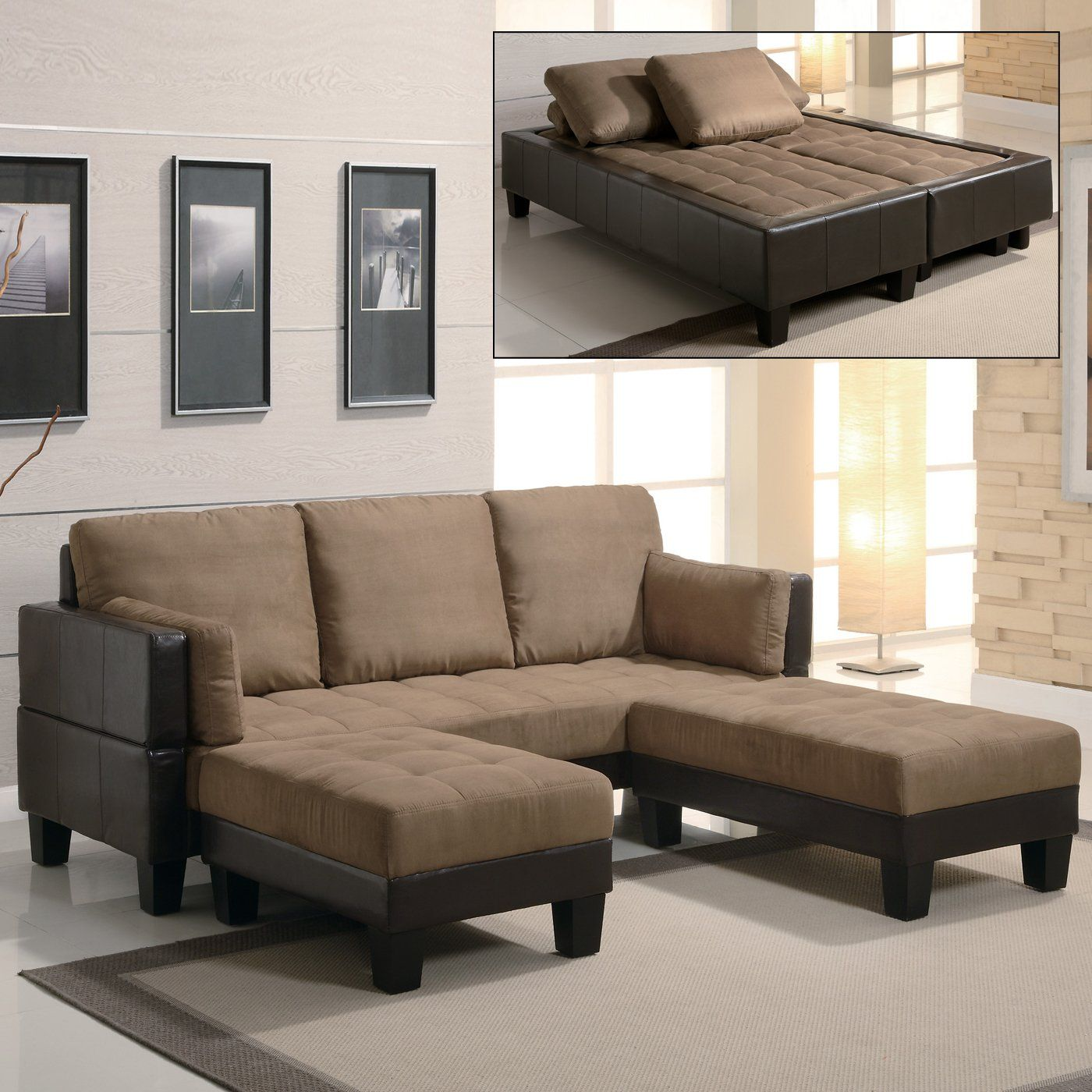 Best Coaster Fine Furniture 300160 Sofa Bed Three Piece Set 400 x 300
