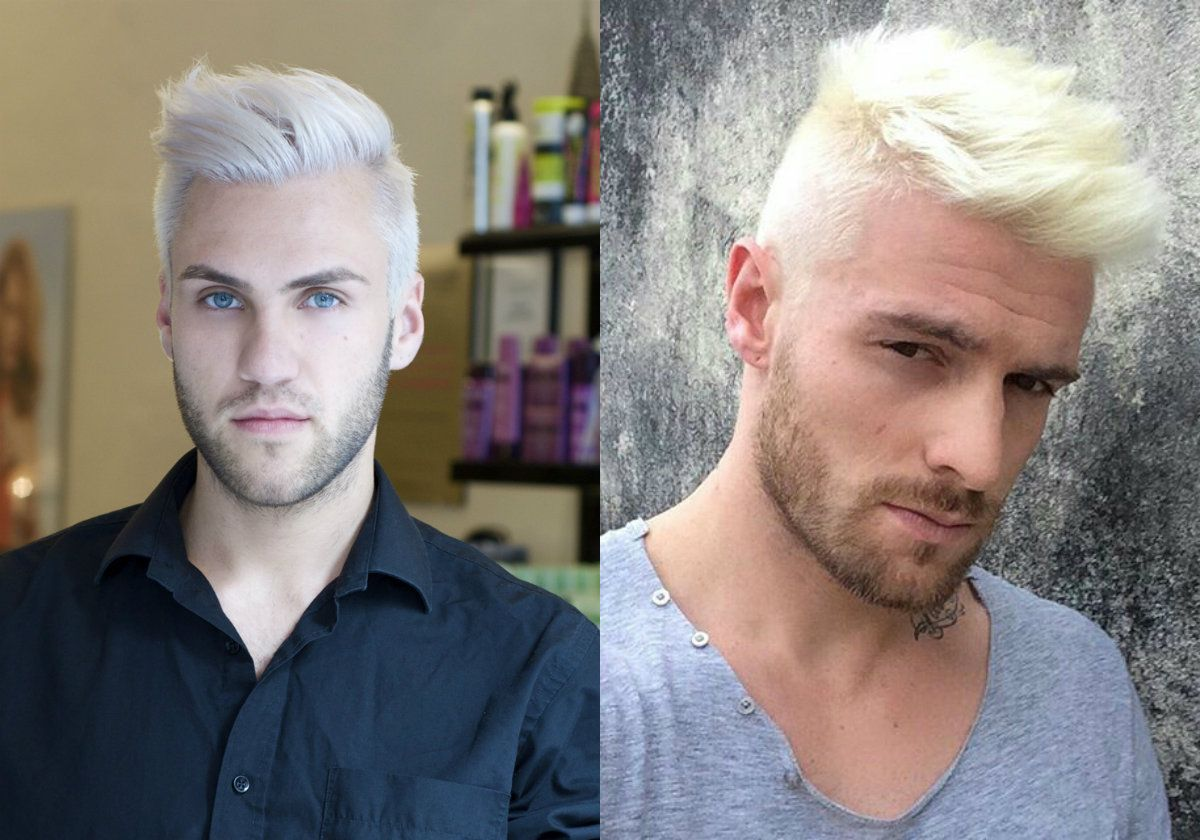 Platinum Blonde Men S Hairstyles To Be The Trend Hairdrome Com Mens Hairstyles Blonde Guys Platinum Blonde