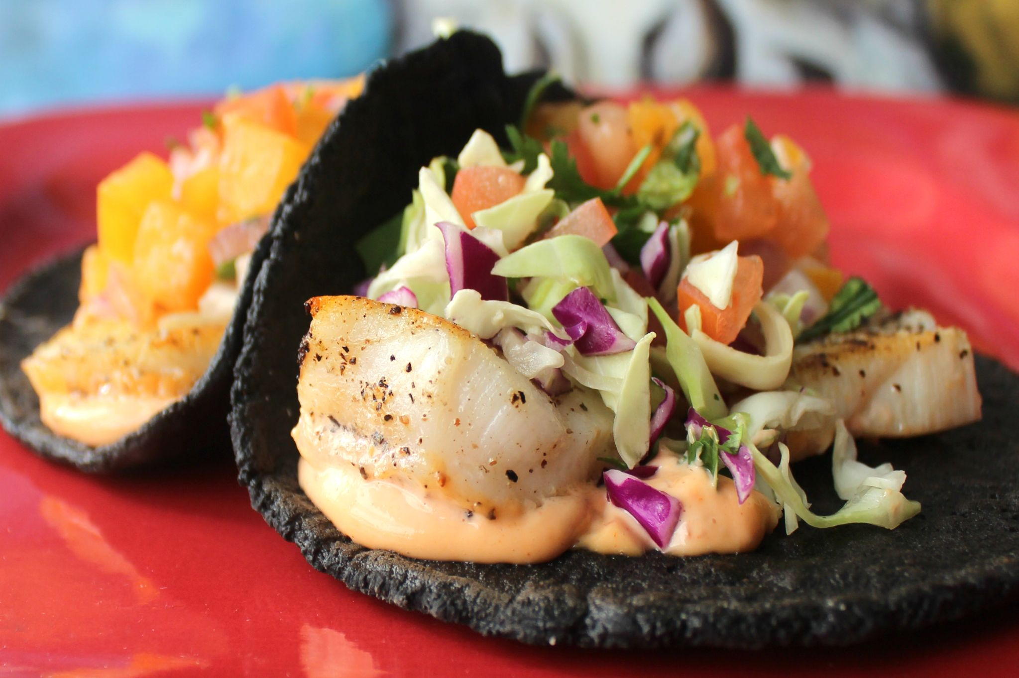 A velvety rich sensation, our grilled Chilean Sea Bass on tortilla de huitlacoche is not only our #Tacolandia star this Saturday but also at today's stops: (1) LUNCH 11A – 2P OC Fair, 88 Fair Dr #CostaMesa CA; and, (2) DINNER 4:30P – 7:30P Westpark Elementary, 25 San Carlo #Irvine CA.  More: http://www.sohotaco.com/2015/06/04/try-our-tacolandia-special-today-in-costa-mesa-irvine #tacocatering #ocfoodies #tacolandia2015 #tacolandiaLA #ocfair