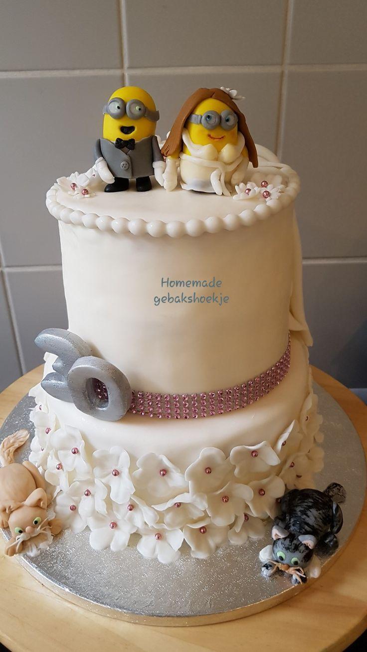 Bridecake mit 2 Standorten. von Gebakshoekje -  / ...   - Wedding Cakes -