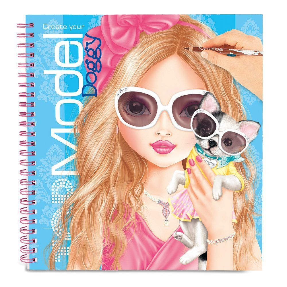 Top Model Album Coloriage Styliste Create Your Doggy Neuf