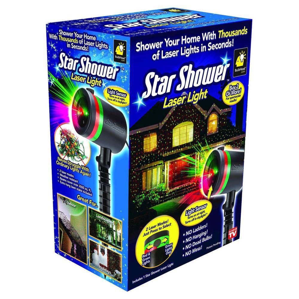Star Shower Laser Light Projector Red Green Outdoor Christmas Light Starshower Light Laser Christmas Lights Star Shower Laser Light Christmas Light Projector