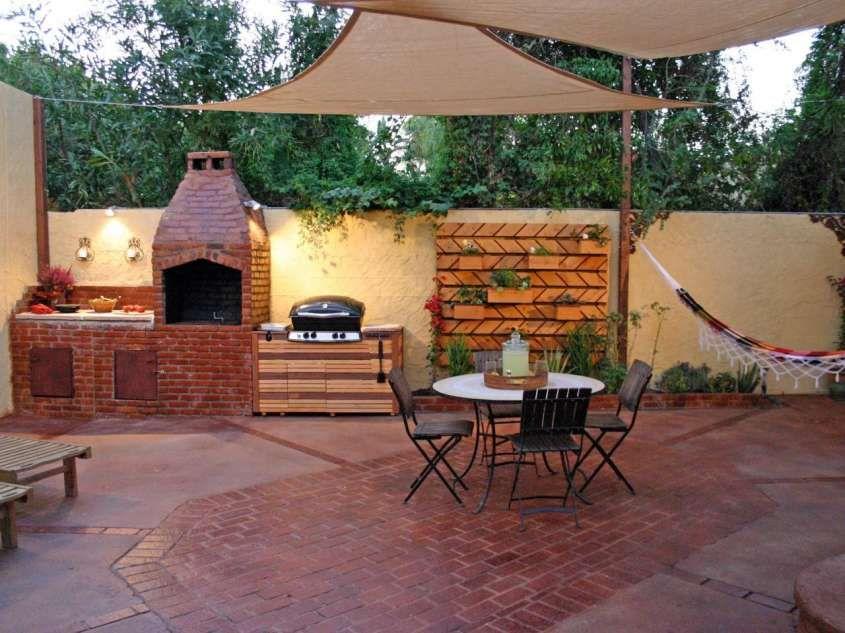 Barbecue in muratura - Area barbecue | Portico anteriore | Pinterest ...