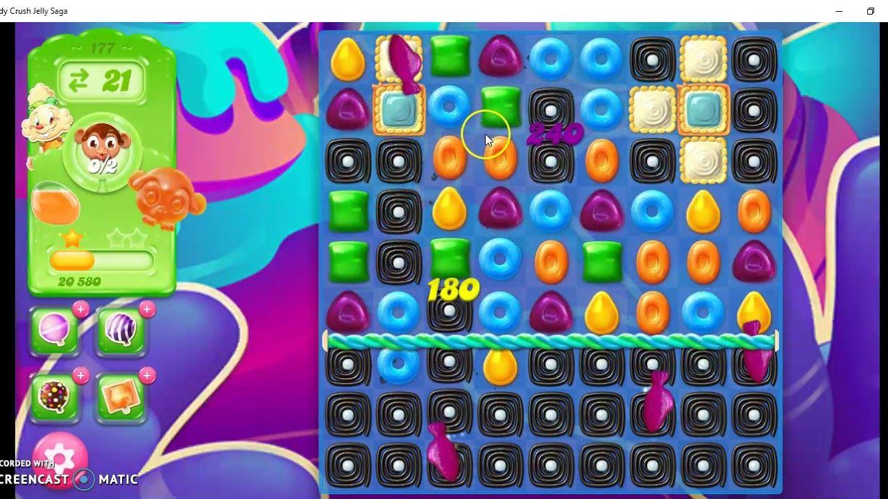 Candy Crush Jelly Saga Level 177 Hard Level Candy Crush Soda Saga Candy Crush Jelly Saga Candy Crush Saga