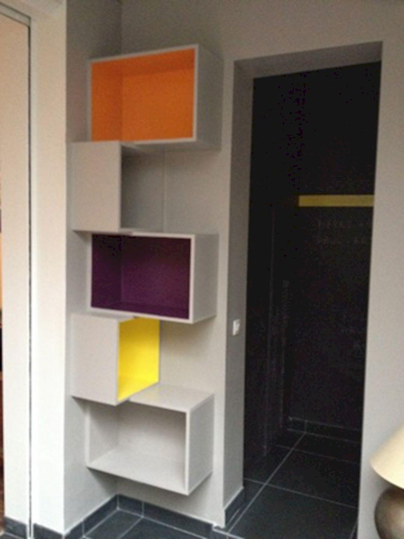 Wythe Corner House Contemporary Interior Of A House With Unique Exterior Landscapes Diy Corner Shelf Shelves Home Diy