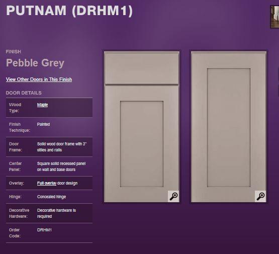 Best Kraftmaid Cabinets Putnam In Pebble Grey Home Reno 400 x 300