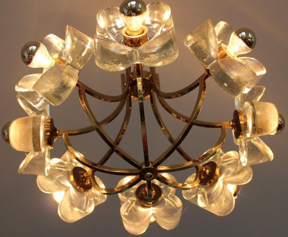 Top piece mid century mazzega italy glass chandelier hollywood mid century mazzega italy glass chandelier hollywood regency arubaitofo Gallery