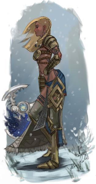 My Gw2 Norn warrior by poppy4ever on DeviantArt | Female