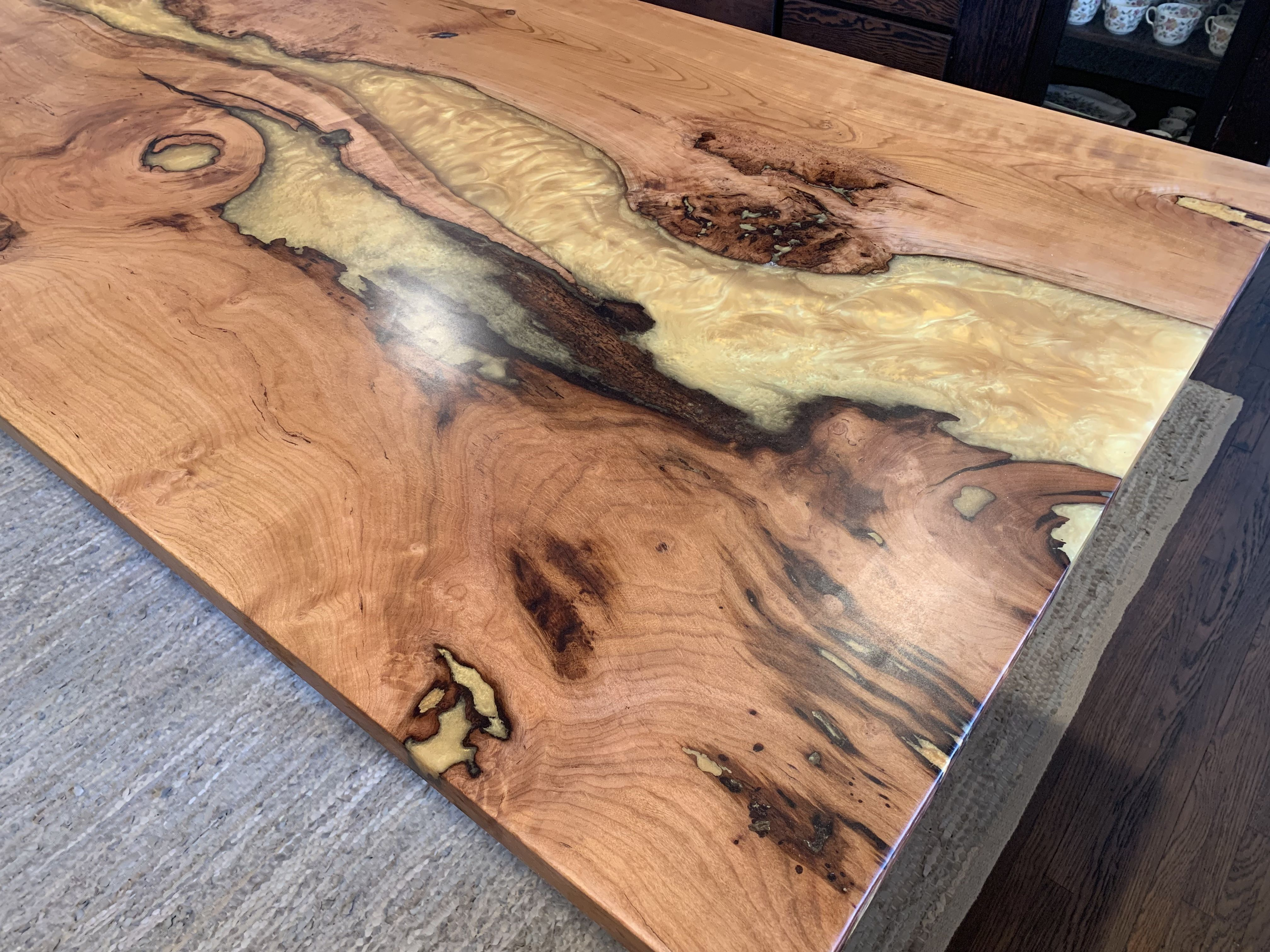 Dinning Resin River Table Epoxy Resin Table Resin Table Custom