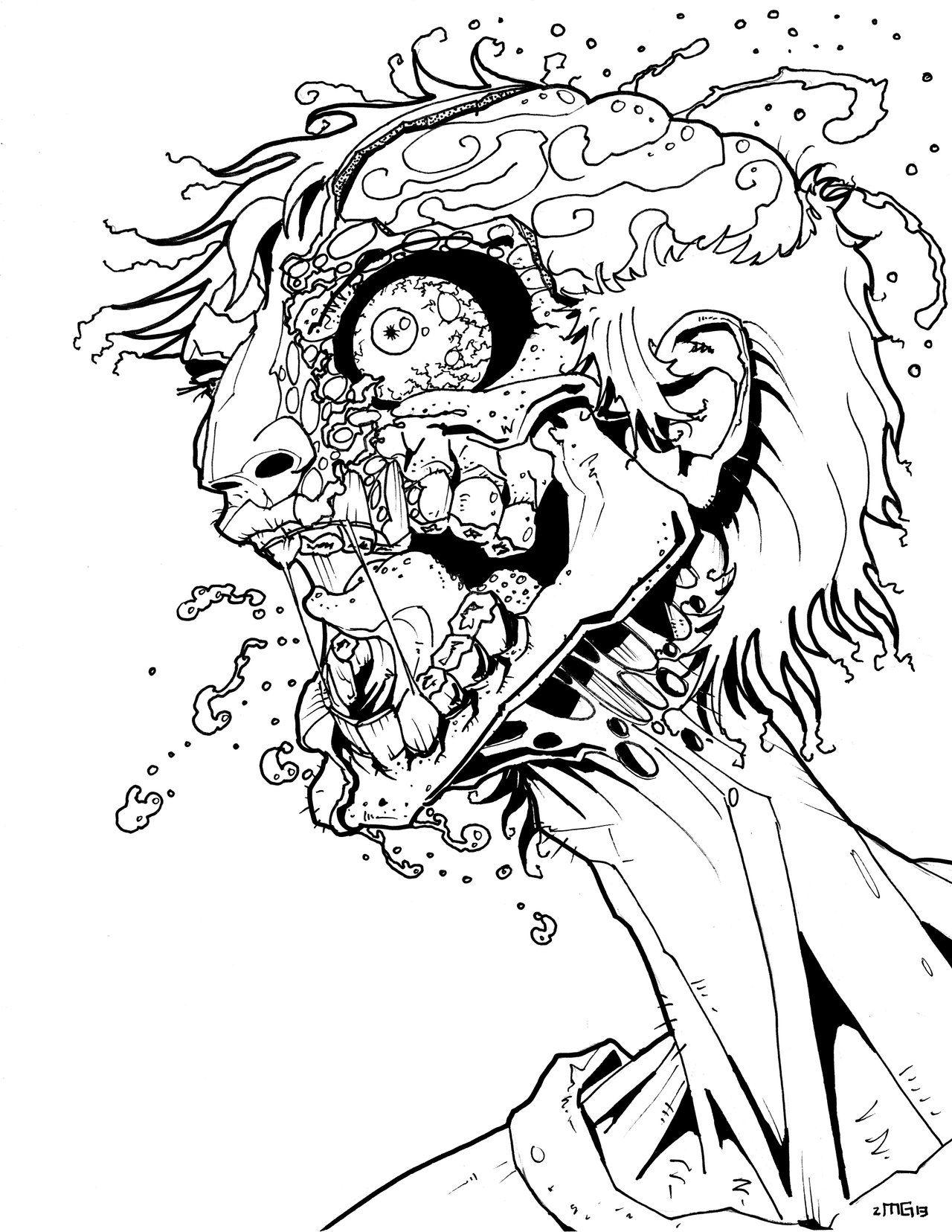 Zombie Rage by MatthewGentry.deviantart.com on @deviantART