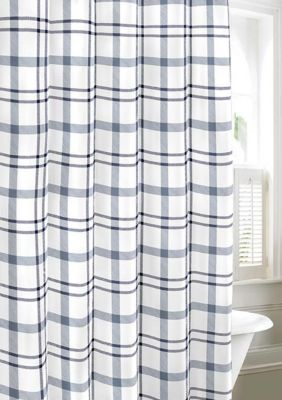 Eddie Bauer Cordova Shower Curtain Blue Shower Curtains Fabric