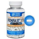 Fenfast 375 - Rapid Fat Burning Diet Pills With Increased Energy - White & Blue Speck Tablets 120 - Clinically Proven Weight Loss Ingredients Made in USA - Fenfast 375 powerful new and revolutionary diet pills deliver: – Powerful Energy Booster – 24 hour Fat Burner – Strong & Safe Appetite Suppression – Cut Calories up to 50% – Lose 15 – 25 Pounds a Month!  The design of the formula for the FenFast 375... - http://weightlosshype.com/fe