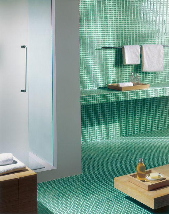 ce.si. - vägg & golv: mosaik 2,5x2,5 (ark 30x30) | dream home, Moderne deko
