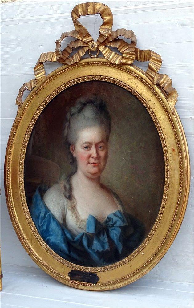 Charlotte Rosalie De La Rue Du Can De Champchevrier Epoque Louis Xvi Tableaux Portraits Rosalie Portrait Tableau