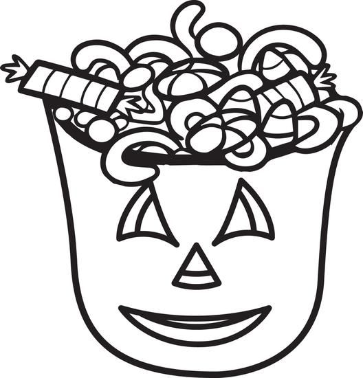 Printable Halloween Candy Coloring Page For Kids Candy Coloring Pages Coloring Pages For Kids Kids Printable Coloring Pages