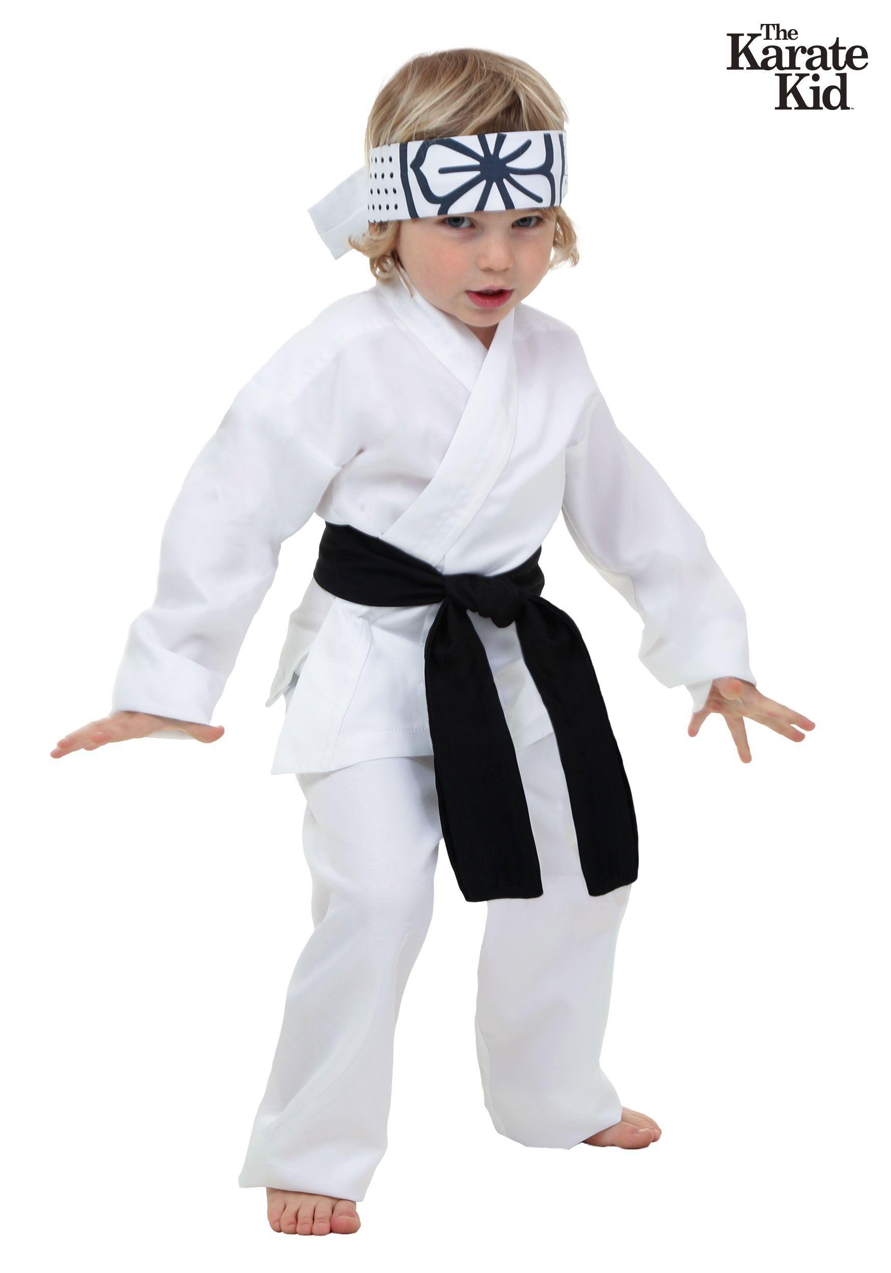 Toddler Daniel San Costume Halloween costumes for kids