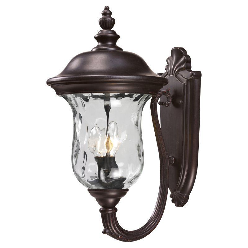 Z-Lite Armstrong 533M Outdoor Wall Light Rubbed Bronze - 533M-RBRZ
