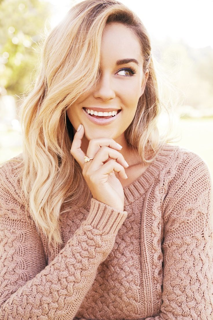 She's so stylish! Adore! Lauren Conrad wearing an LC Lauren Conrad for Kohl's Knit Crop Sweater
