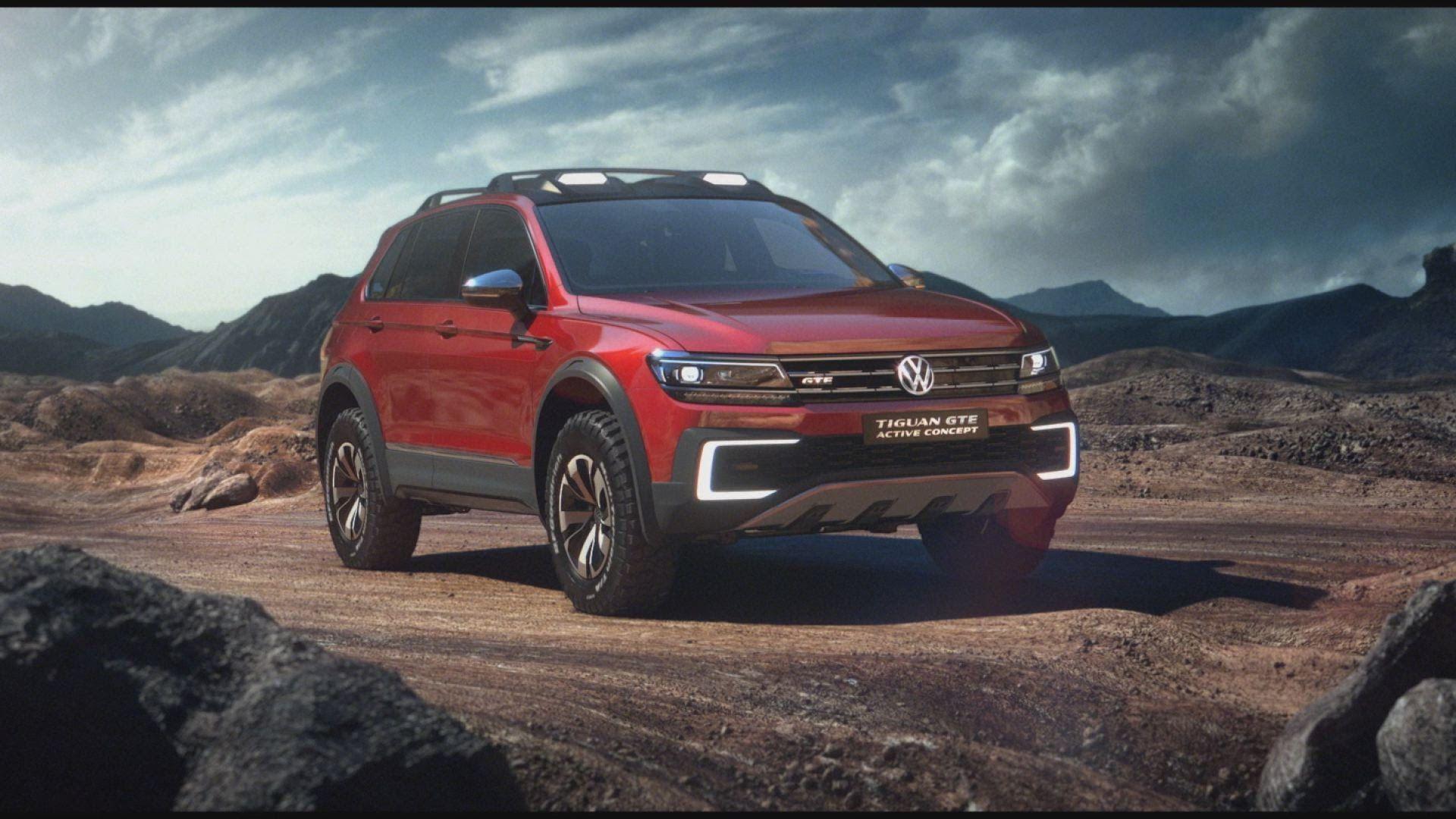 Volkswagen 2017 vw tiguan gte active concept