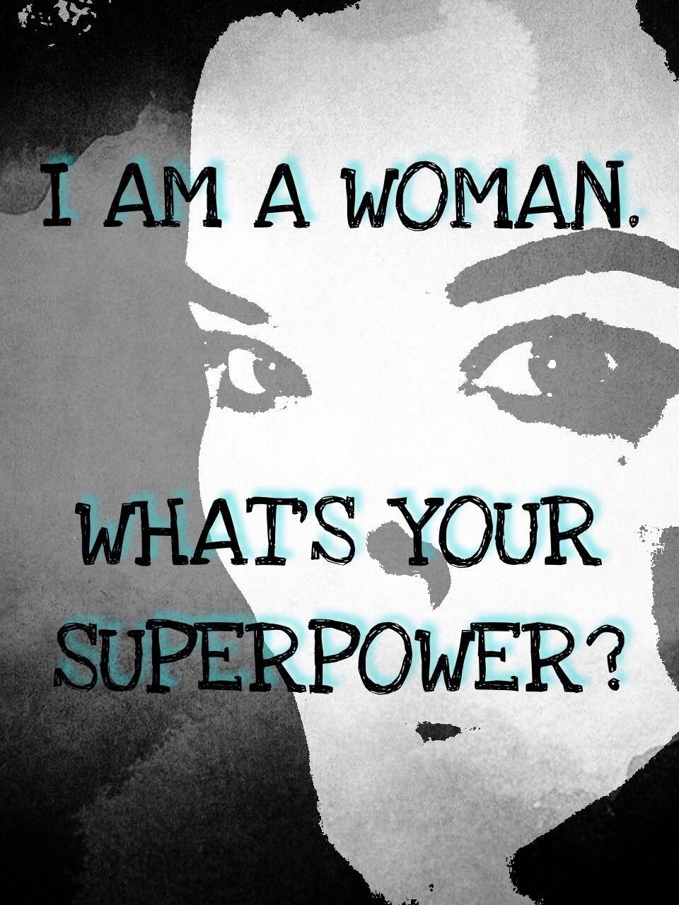 Woman superpower