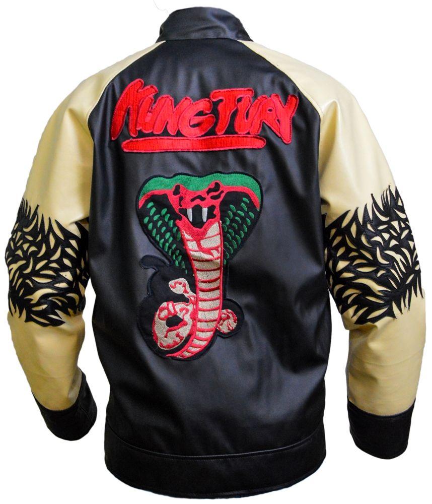 Kung Fury Jacket David Hasselholf Cobra Leather Jacket Black Leather Jacket Men Men S Coats And Jackets Leather Jacket Men [ 1000 x 858 Pixel ]