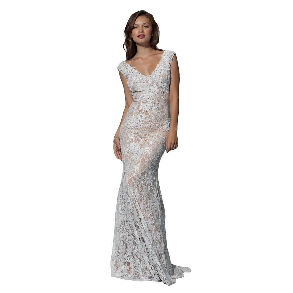 Details About 998 Nwt Lace Jovani Prompageantformalwedding Dress