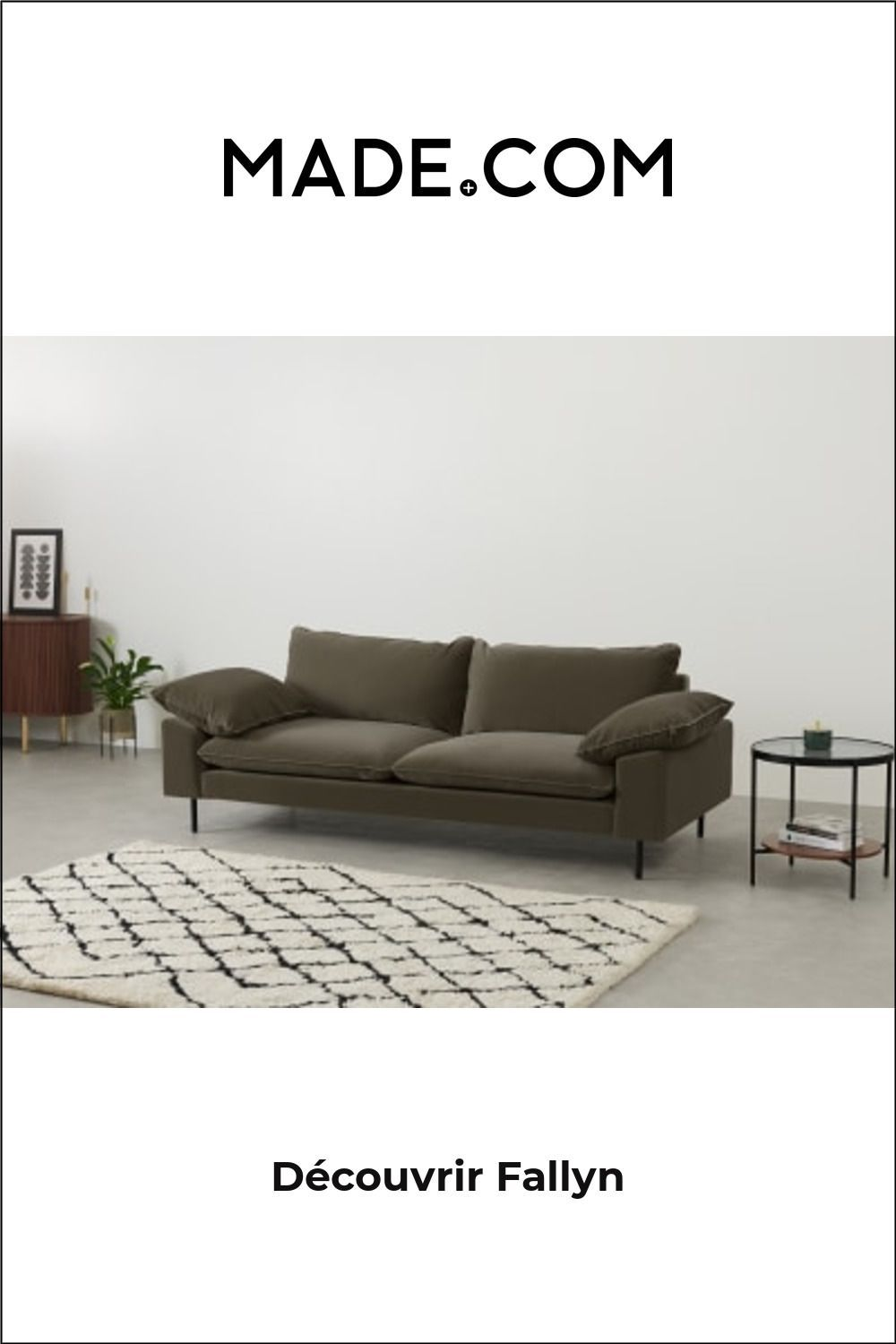 Architecture Drawing Discover Made Canapes 3 Places Vert In 2020 Sofa Architecture Drawing Comforters Cozy