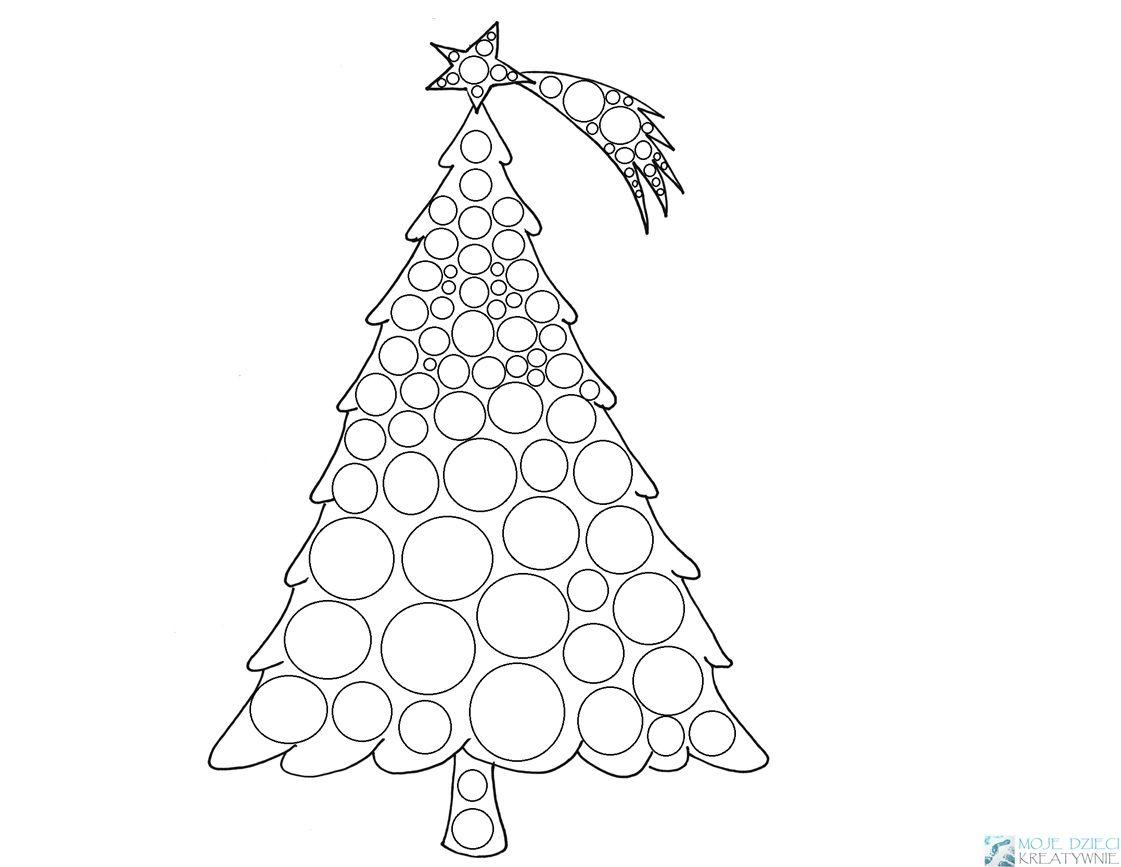 Choinka Do Wyklejania Moje Dzieci Kreatywnie Crafts For Kids Crafts Eiffel