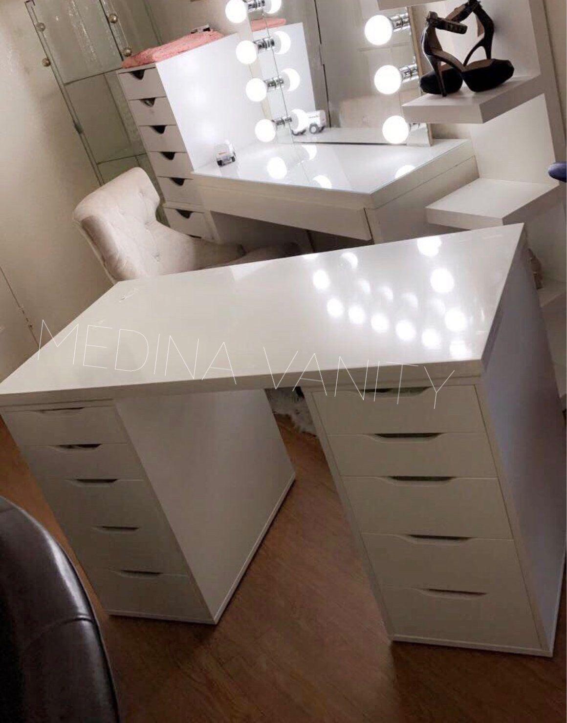 Glass Top For Vanity Table Medina Vanity Vanity Table Ikea Vanity Vanity Mirror