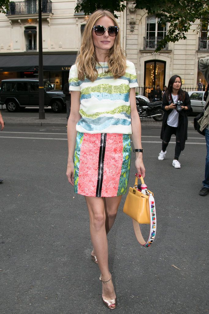 Olivia Palermo Style at Couture Fashion Week 2015 | POPSUGAR Fashion