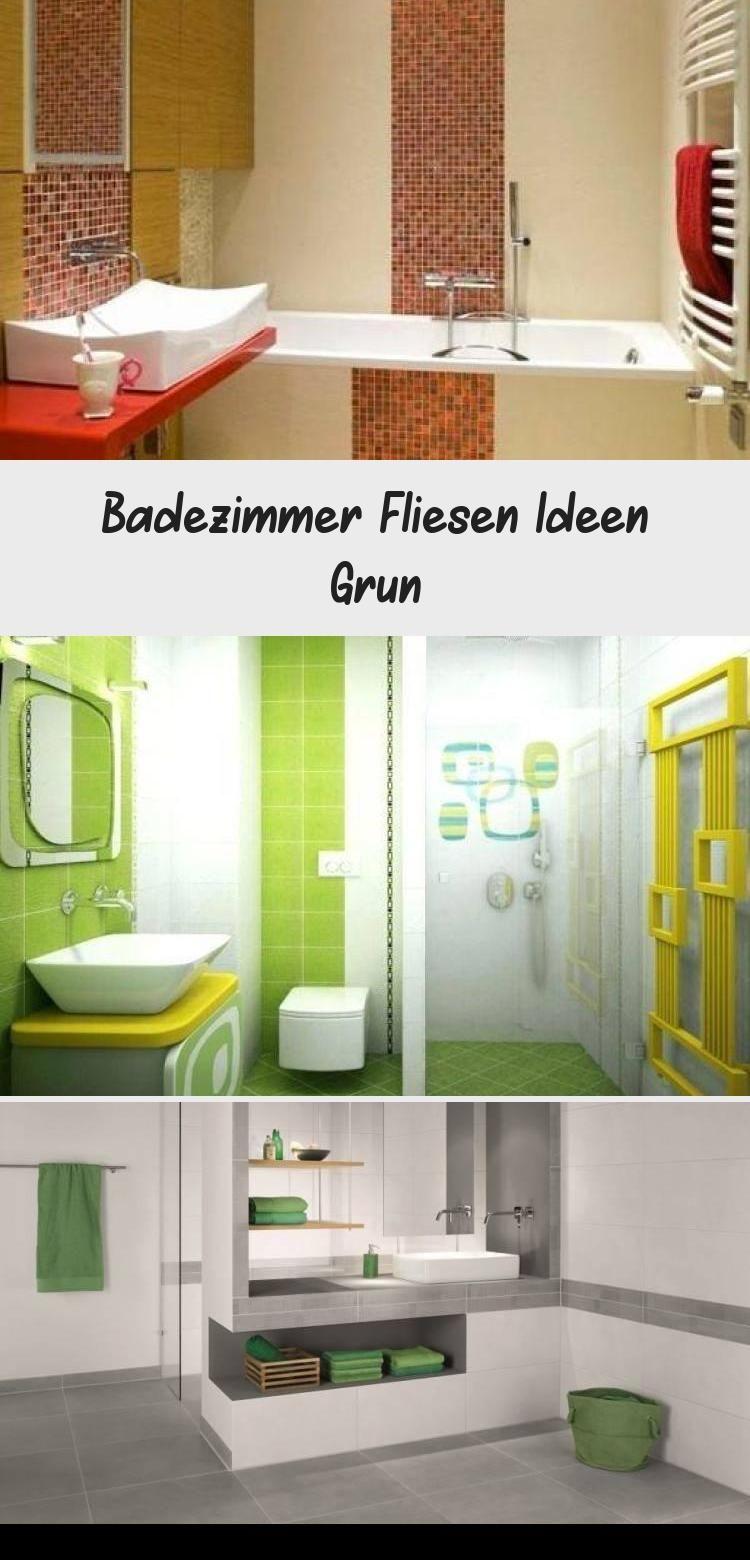 Badezimmer Fliesen Ideen Grun Tile Bathroom Home Decor Furniture