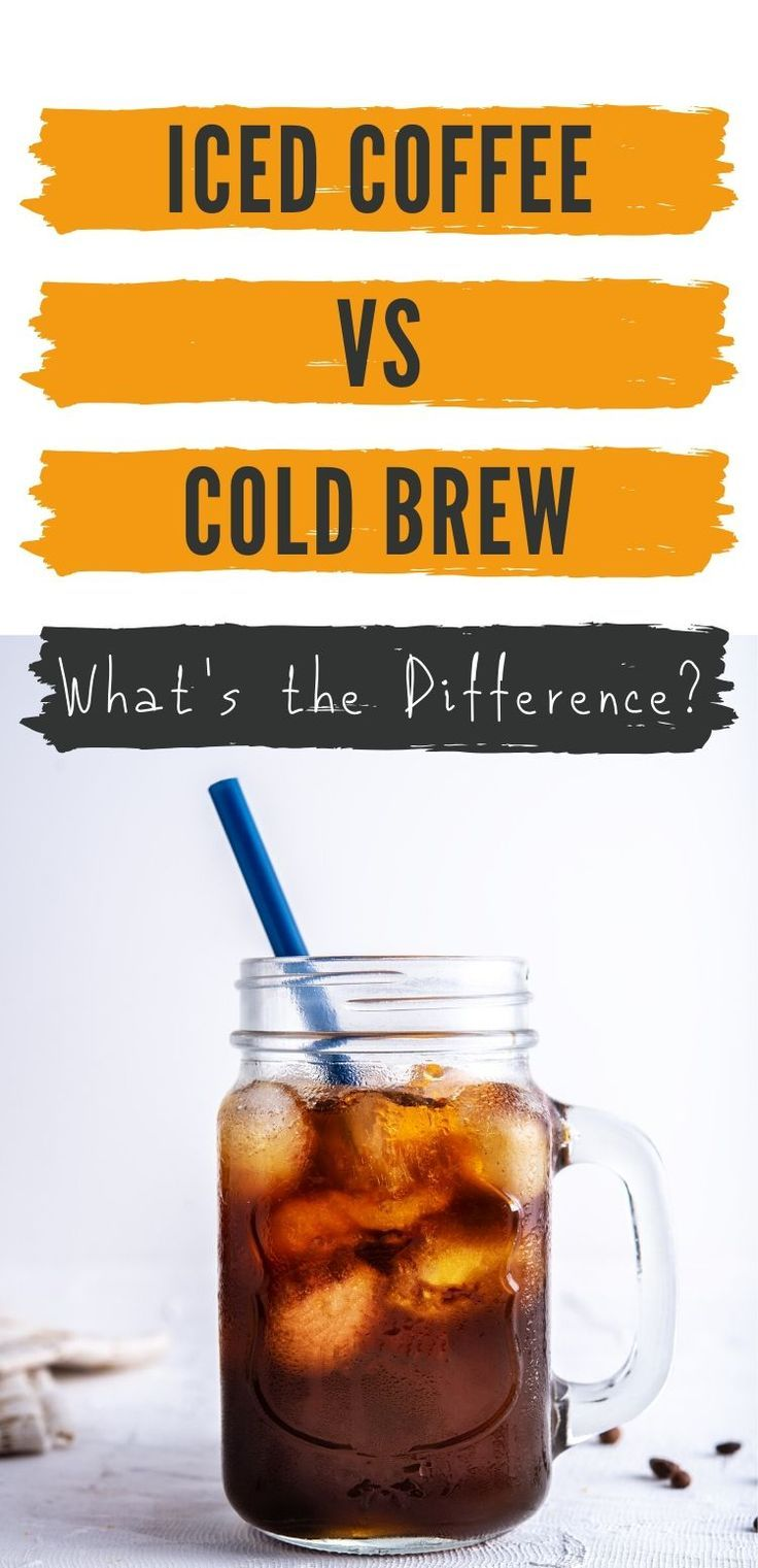 20++ Whats the difference between cold brew and iced coffee at starbucks inspirations