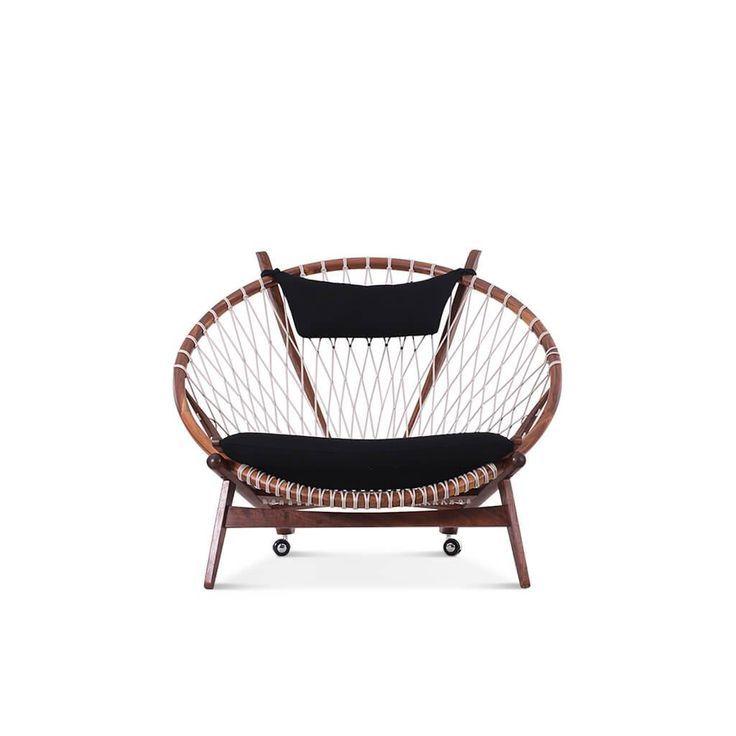 Hans Wegner Circle Chair Circle chair, Hoop chair, Wegner