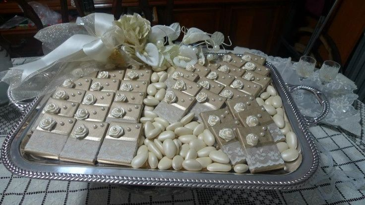Decorated Chocolate Tray