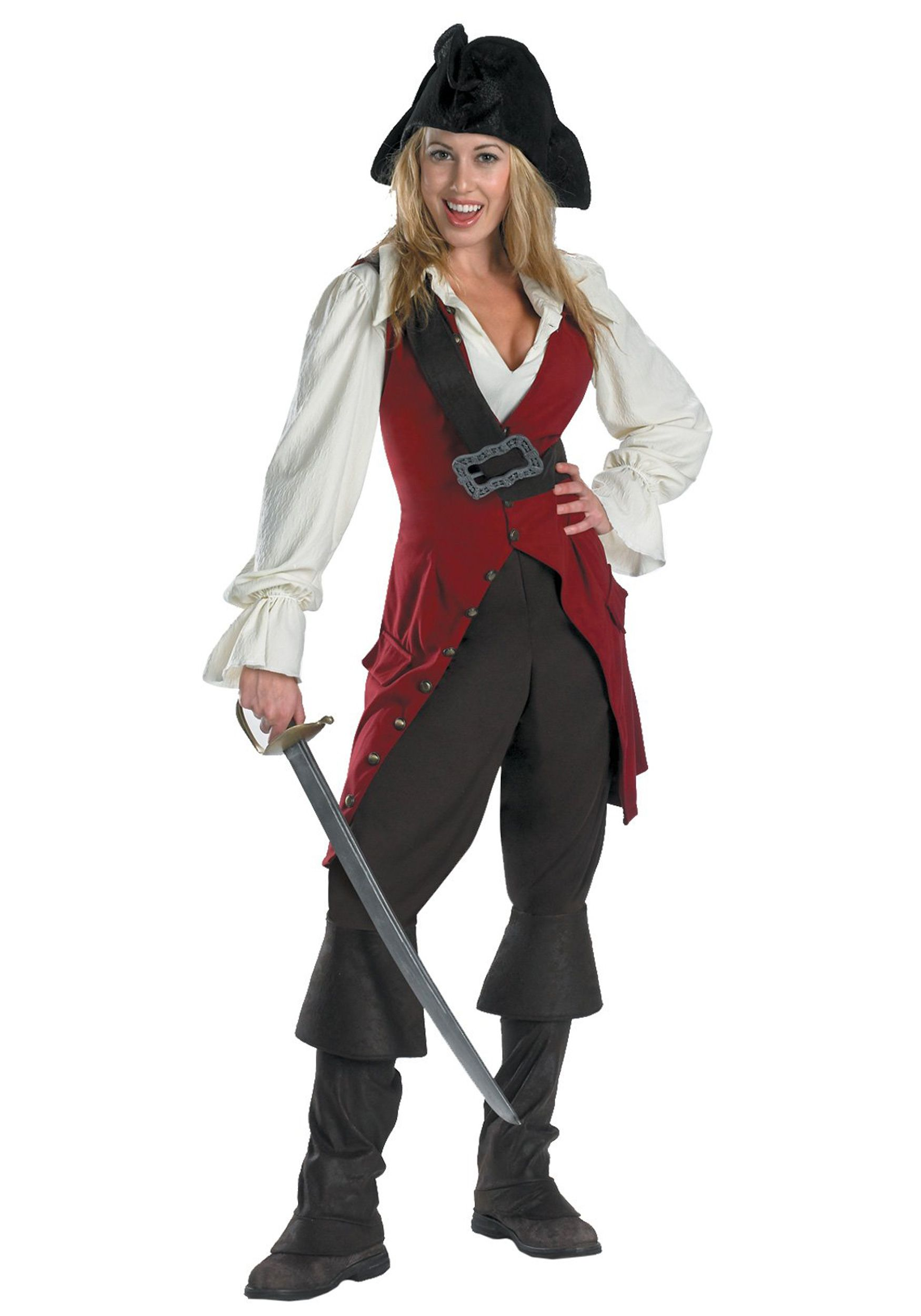 b6dc73f8e53a0 Elizabeth Swann Adult Pirate Costume - Pirates of the Caribbean ...