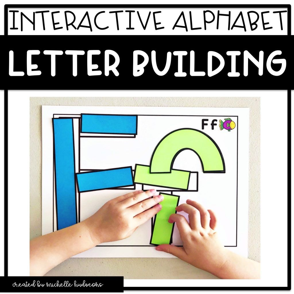 Alphabet Letter Building Mats Activities