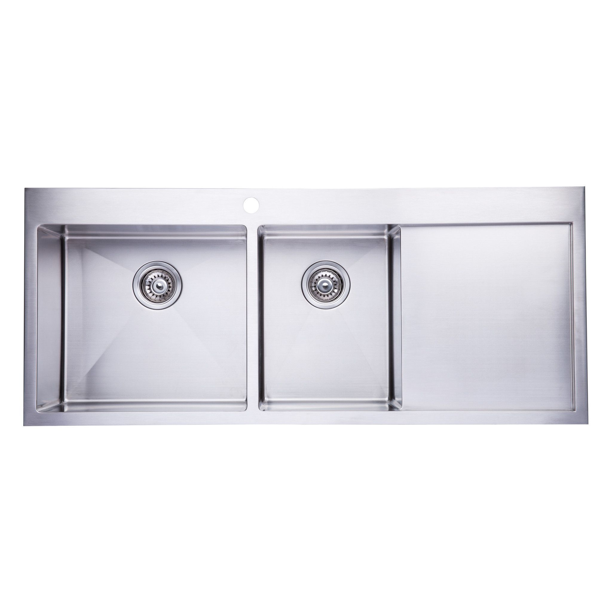Bai 1235 Stainless Steel 16 Gauge Kitchen Sink Handmade 48 Inch