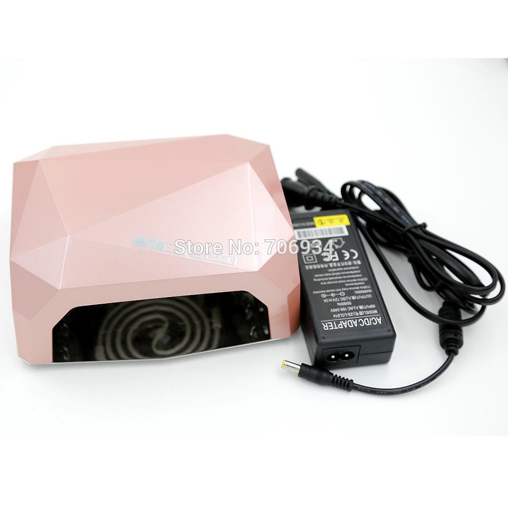 49.46$  Watch here - http://aliu8n.worldwells.pw/go.php?t=32376619681 - Nail Salon Equipment 1pcs/lot 36W Uv Lamp +LED Nail Lamp Uv Light Uv Gel CCLF Lamp ZS-LCL014-36w